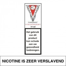Vaprance White Label Strawberry 10Ml (0Mg)
