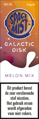 Space Mist Galactic Disk Melon Mix 6mg